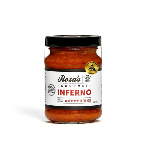 Rozas Inferno Sauce (140ml)