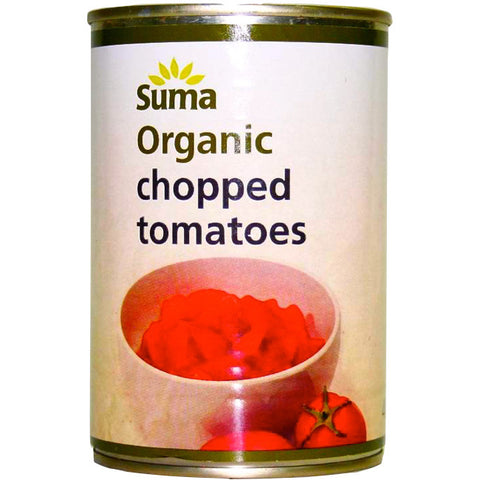 Chopped Tomatoes Organic (400g)