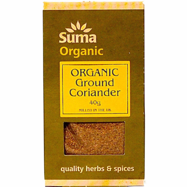 Ground Coriander Organic (40g)
