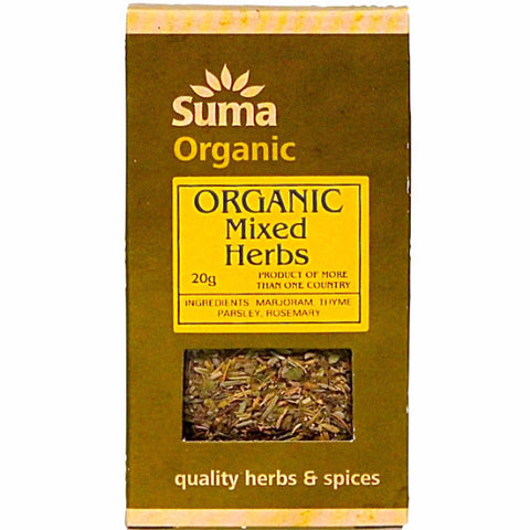 Mixed Herbs Organic (20g)