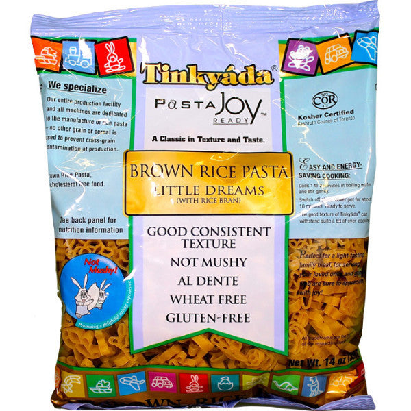 Tinkyada Pasta Brown Rice Little Dreams Gluten Free 454g
