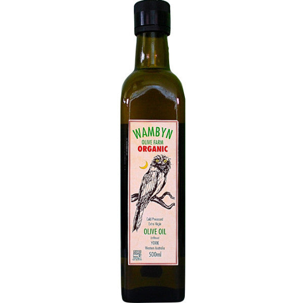Wambyn Farm Organic Olive Oil (500ml)
