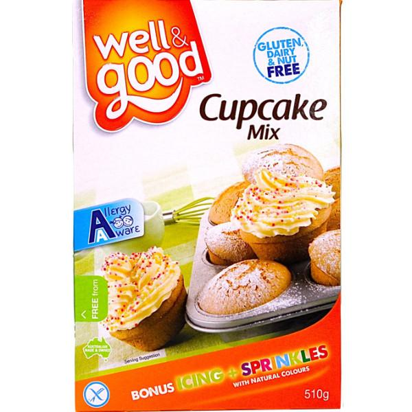 Well & Good Cupcake Mix 510g