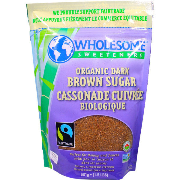 Organic Dark Brown Sugar (681g)