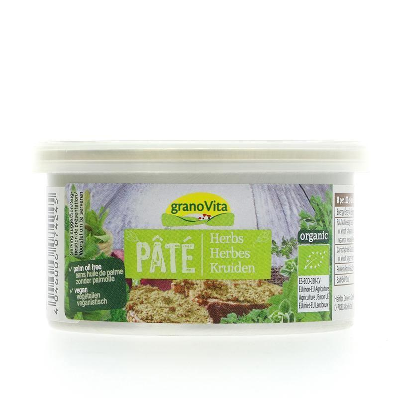 Palm Oil Free Herb Pate (125g)