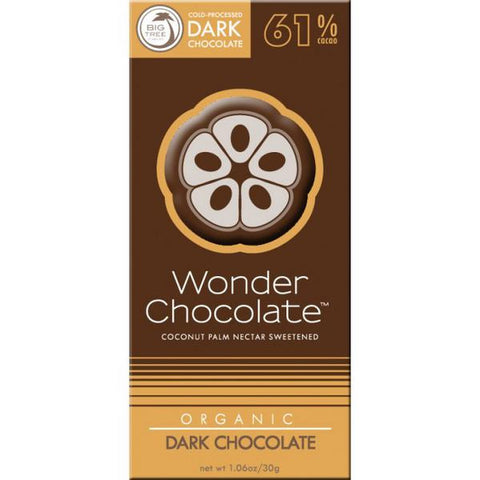 Big Tree Wonder Chocolate Organic Dark Chocolate (30g)