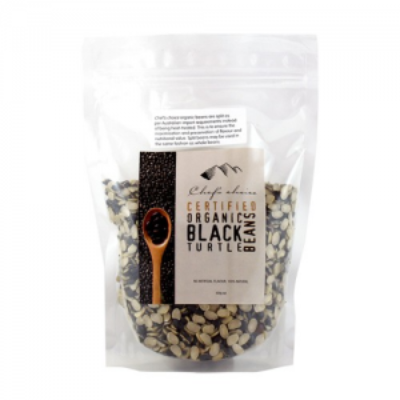 Certified Organic Black Turtle Beans (500g)