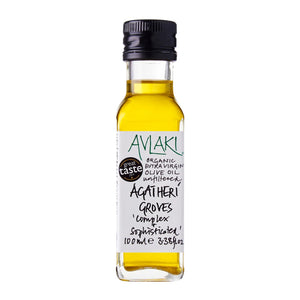 Agatheri Groves Extra Virgin Organic Olive Oil (100ml) Front