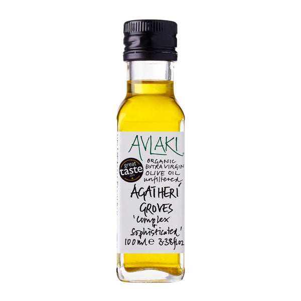 Agatheri Groves Extra Virgin Organic Olive Oil (100ml)