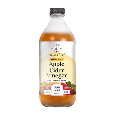 Nature First Apple Cider Vinegar w/ Honey Organic (500ml)
