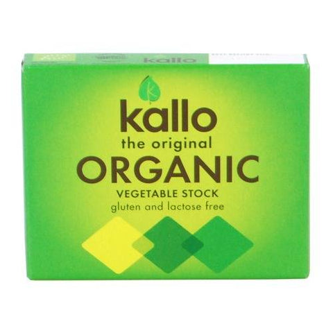 Organic Gluten Free Vegetable Stock Cubes (66g)