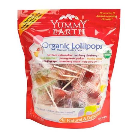 Organic Lollipops (25pcs)