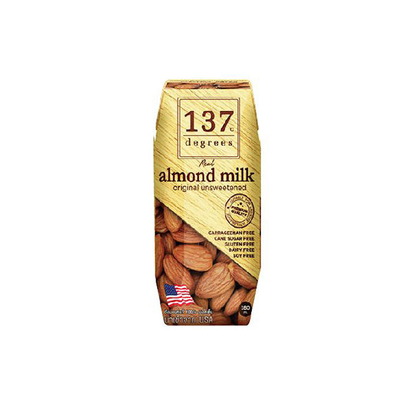Almond Milk - Unsweetened (3 x 180ml)