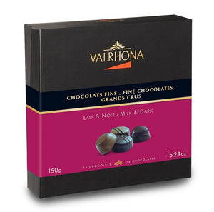 16 Fine Chocolates - Dark & Milk (150g)