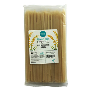 Organic Gluten Free Flat Brown Rice Noodle (240g)