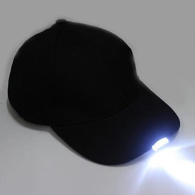 5 LED Lighted Baseball Cap With Batteries