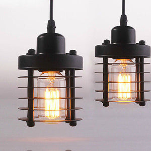 Single Head Balcony Lamp Retro Droplight Ceiling Chandelier Fixture New 110-240V