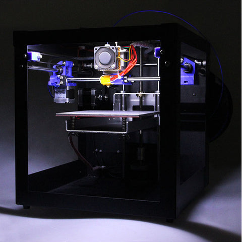 3D Printer Assembled Me Creator Mini Desktop Kit With 2004 Display 0.3mm Nozzle 1.75mm Material