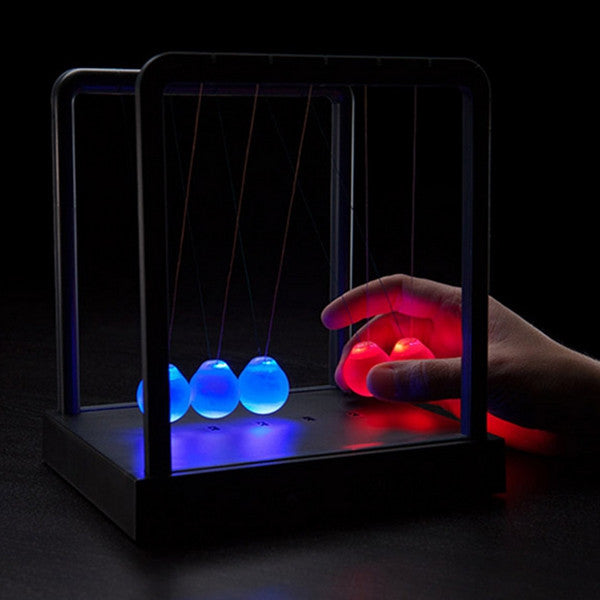 Kinetic Light Newton's Cradle Balance Ball
