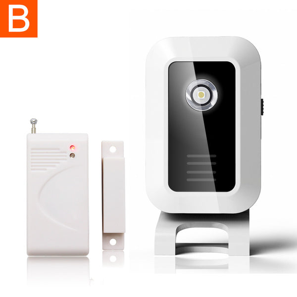 Welcome Device Door Alarm Welcome Chime Wireless Infrared IR Signal Motion Sensor Door Bell Alarm Entry Doorbell Alarm Siren