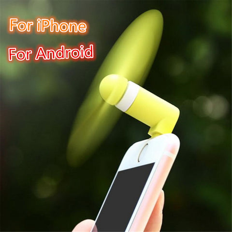 Portable Travel Gadget 8 pin Flexible Mini Micro usb Fans for Samsung Xiaomi Android Phone Hand Fan for iPhone 5 6 6s 7 plus