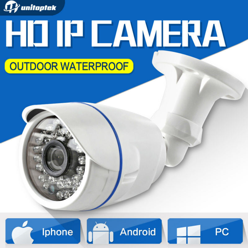 1.0MP / 2MP Bullet 720P IP Camera 1080P Outdoor IR 20m HD Security Waterproof Night Vision P2P CCTV IP Cam ONVIF IR Cut XMEye
