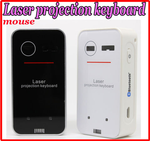 Mini Bluetooth Laser Projection Wireless Virtual Keyboard+mouse function