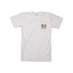 Royal Logo T-SHirt in White by Shillingford Co.