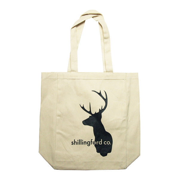 Shillingford Stag Canvas Tote by Shillingford Co.