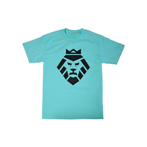 Summer Lion T-Shirt in Mint by Shillingford Co.