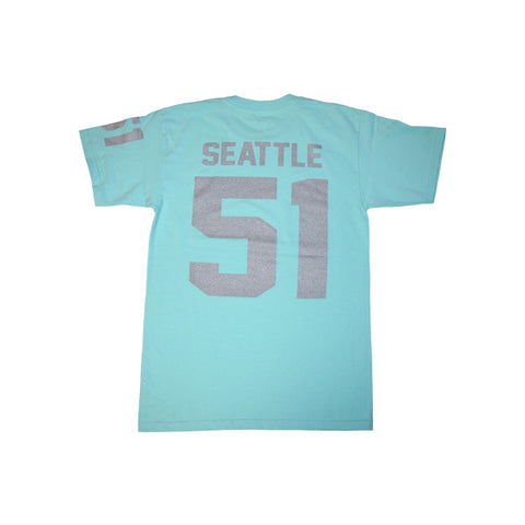 Team Seattle T-Shirt in Summer Blue by Shillingford Co.