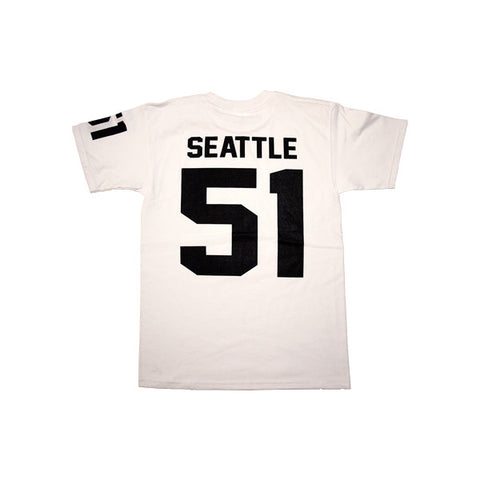 Team Seattle T-Shirt in White by Shillingford Co.
