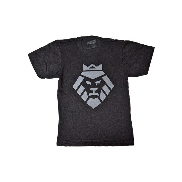 Vintage Lion T-Shirt in Heather Black by Shillingford Co.
