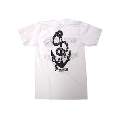 Royal Anchor T-Shirt in White - Back