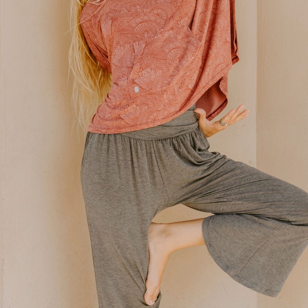 Bamboo Flow Pant ~ Heather
