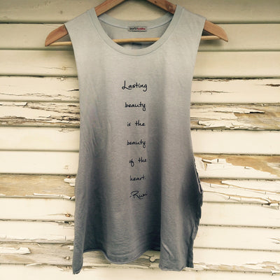 RUMI Lasting Beauty Muscle Tank