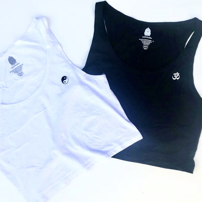 Mini Om & Yin Yang Crop Tank Bundle