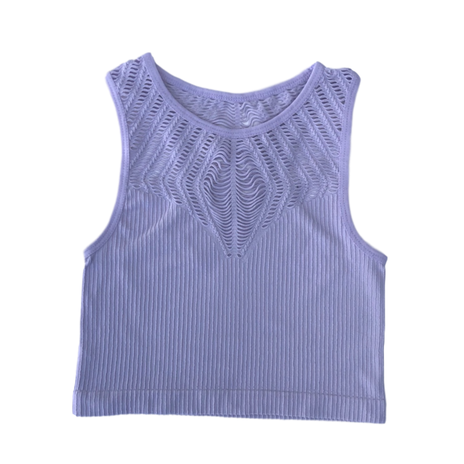 Crop Top ~ Lavender