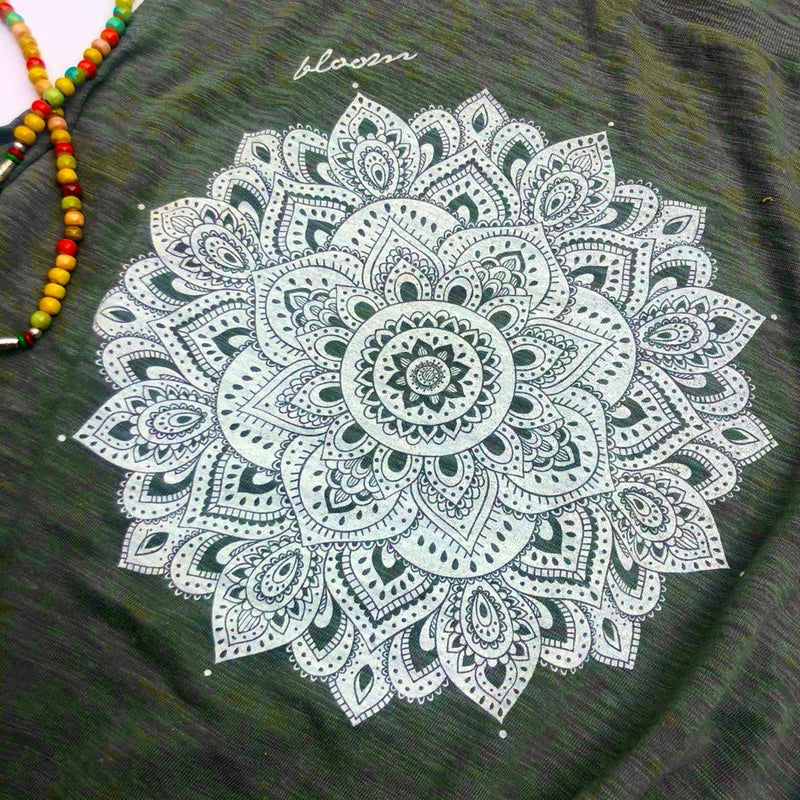 Bloom Mandala Muscle Tank