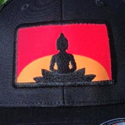 Sunset Buddha Hat