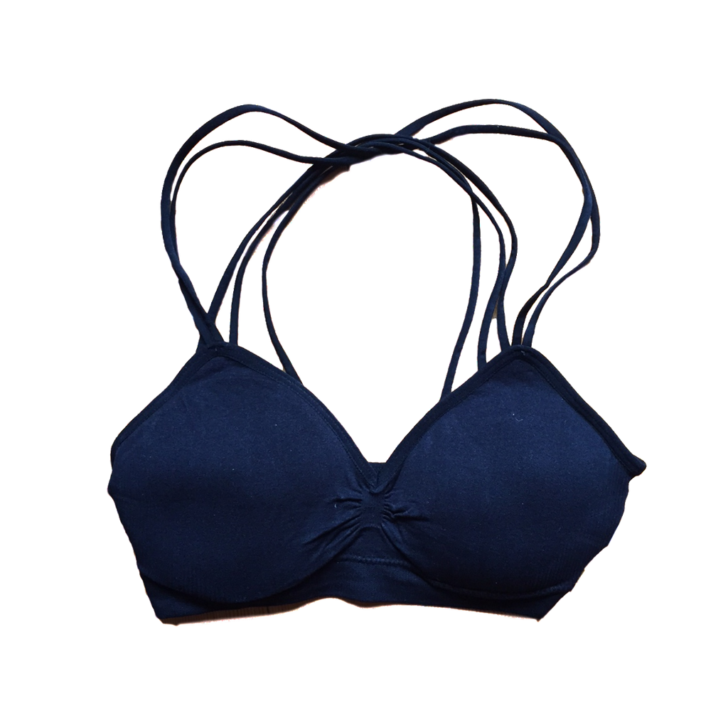 Strappy Bra ~ Black