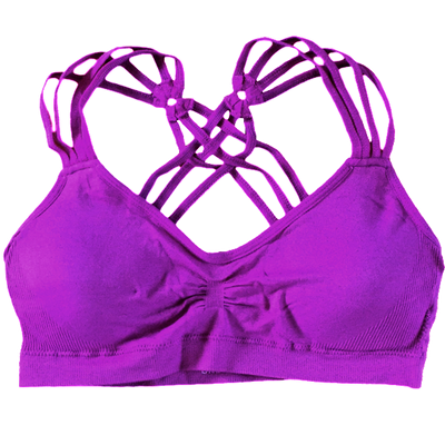 Triple Strap Bra ~ Very Berry