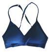 Convertible V Neck Bra ~ Steel Blue