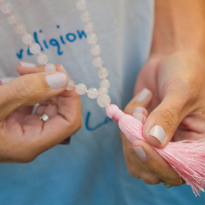 Open Heart Mala Necklace