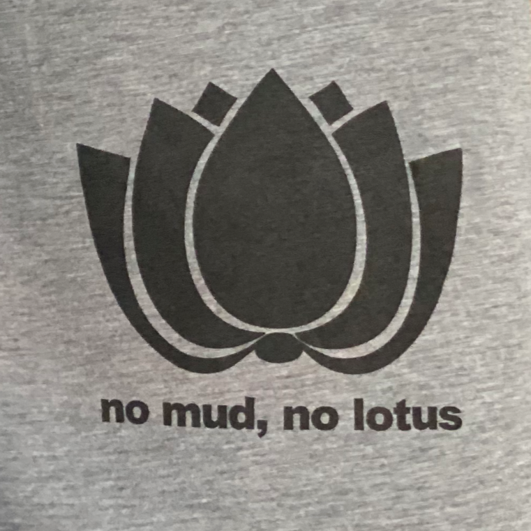 No Mud, No Lotus Racerback Tank