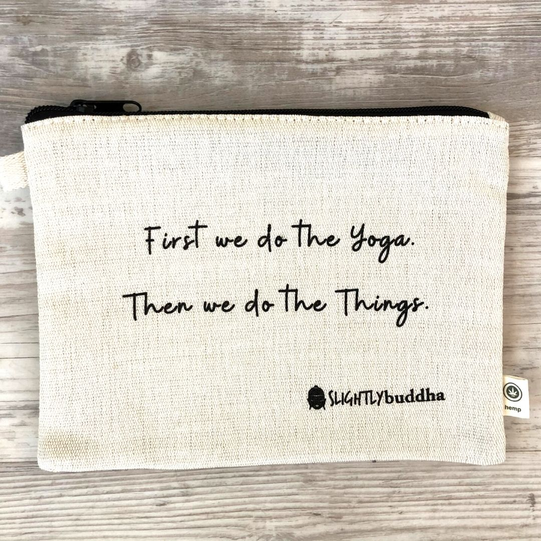 Yoga Zipper Pouch