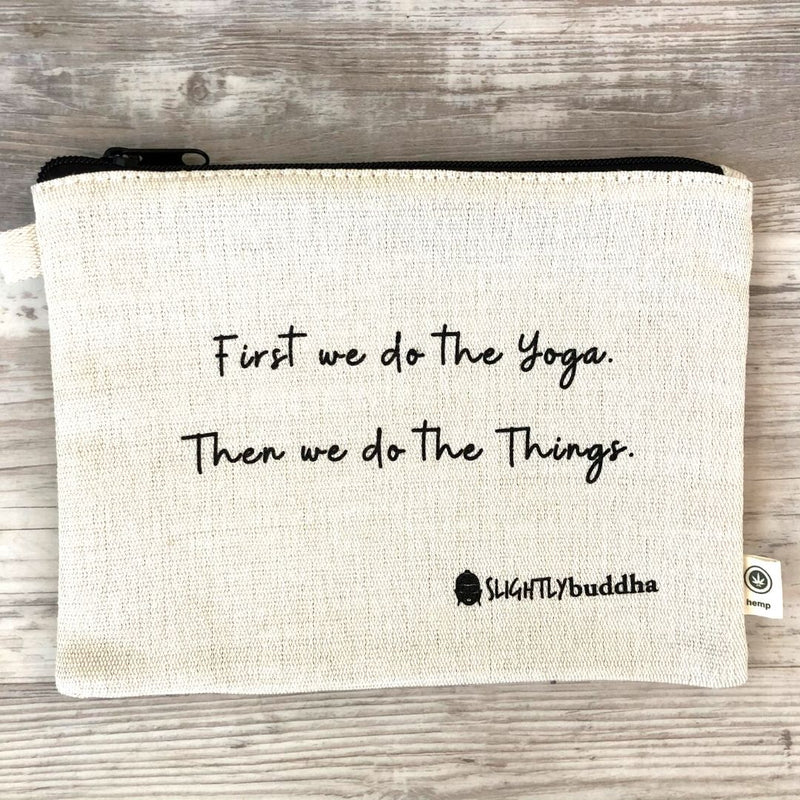 Yoga Tote and Zipper Pouch Bundle