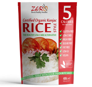 ZERO RICE SUPER BULK BUY! 120 Packets (400g) + FREE DELIVERY!