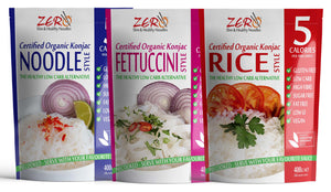 ZERO SUPER BULK BUY! 40 Noodles, 40 Lasagna & 40 Rice & (400g) +FREE DELIVERY!