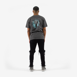 """Weeping Angel"" S/S T-Shirt (Faded Black)"